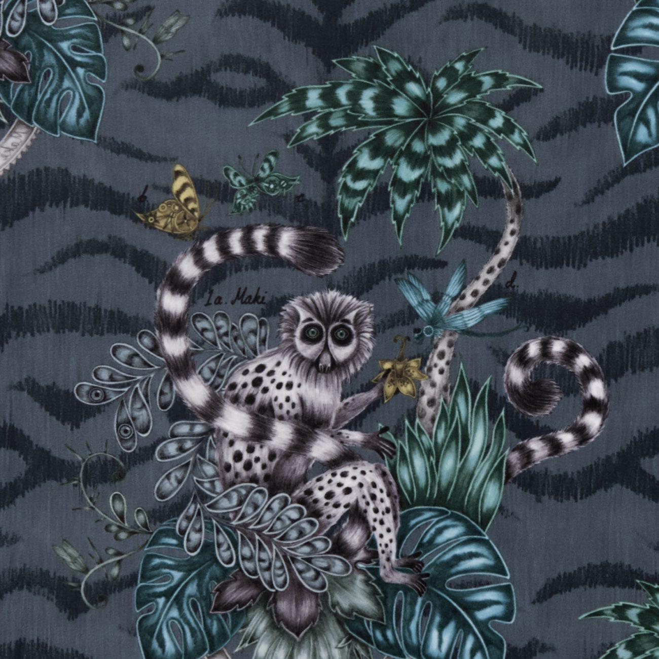 Lemur Navy Velvet
